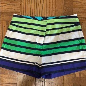 Striped patterned shorts
